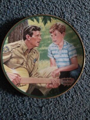 The Hamilton Collection Andy Griffith MAYBERRY SING -A- LONG Plate #2950A