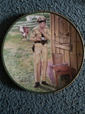 """The Hamilton Collection Andy Griffith Show """"A Starling Conclusion"""" Plate #2816A"""