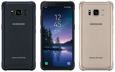 Samsung Galaxy S8 Active SM-G892A Unlocked Smartphone Cell Phone AT&T T-Mobile