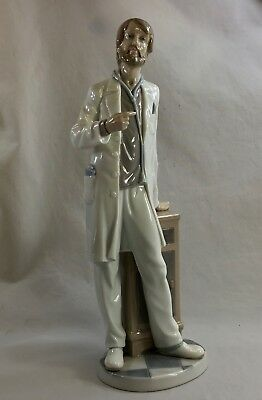 Lladro 5498 male doctor with beard