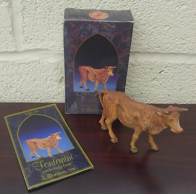Roman Fontanini Heirloom Nativity Figure Standing Ox 12oz)