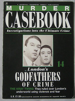 Murder Casebook Issue 14 - The Kay Twins London's Godfathers of crime
