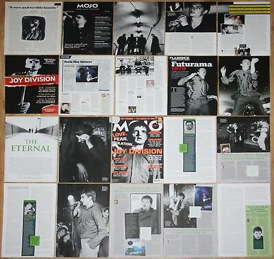 JOY DIVISION Ian Curtis UK clippings magazine articles cuttings photos music