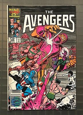 Stan Lee Signed THE AVENGERS #268 Marvel Comics AUTO 1986 w/ EXCELSIOR Hologram
