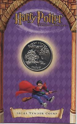 2002 Isle Of Man Crown Harry Potter In Car