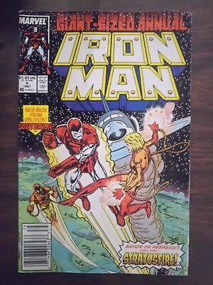 Iron Man Annual Volume 1 Issue 9 Quality:FN-