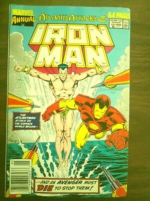 Iron Man Annual #10 (Sep 1989, Marvel)