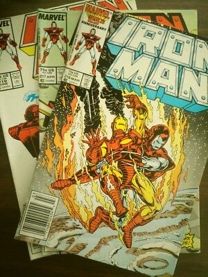 Iron Man #227-229 (Feb 1988, Marvel) Condition Good