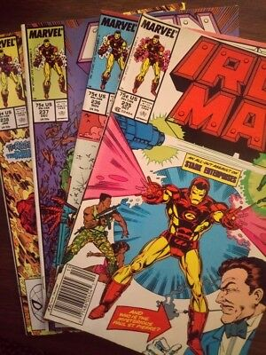 Iron Man comics Issue #235-238