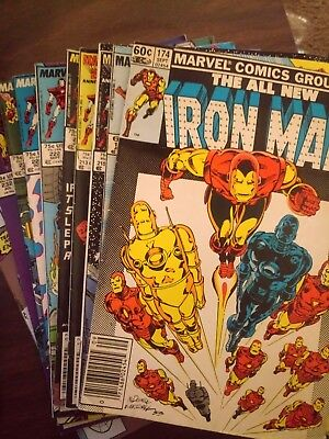 Iron Man Comics 174,197,213,215,220,222,223,231,232,240
