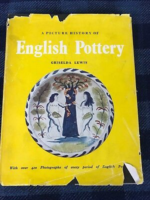 A Picture History Of English Pottery 1956 Hardcover