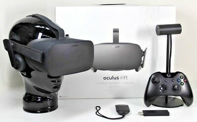 Oculus Rift Virtual Reality Headset VR BUNDLE with Xbox Wireless Controller