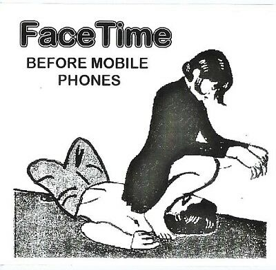 Facetime Sticker Home Bathroom Decor Iphone For Door Mirrors Black&white Film