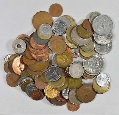 Roughly a POUND of Mixed World Coins - Great Mix *176