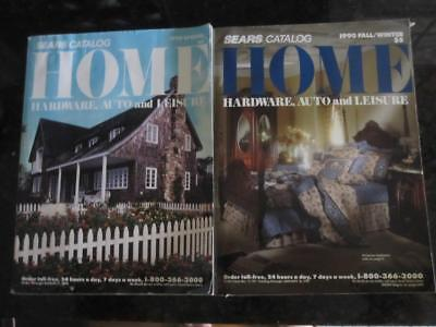 Vintage SEARS HOME Catalogs ~ 1990 ~ Fall & Winter + Spring ~ Hardware, etc