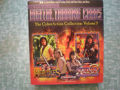 Xena  &  Hercules  CyberAction Vol. 1 Digital Trading Cards 1999