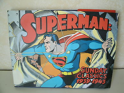 SUPERMAN SUNDAY CLASSICS 1939-1943 Hardcover by Siegel & Shuster