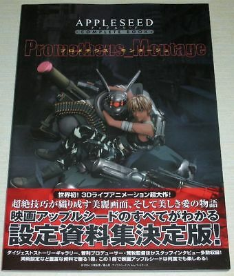 Appleseed Complete Book Prometheus Montage Art Book OOP Anime Masamune Shirow