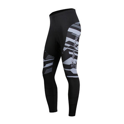 Men Pro Breathable Cycling Long Pants Tights Trouser Bike Bicycle Outfit Legging