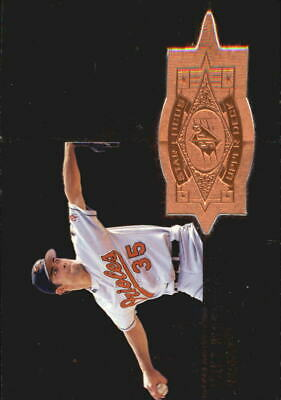 1998 SPx Finite Baltimore Orioles Baseball Card #144 Mike Mussina SF /7000