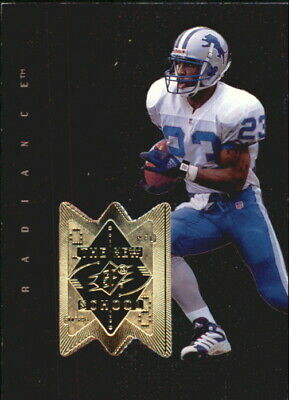 1998 SPx Finite Radiance Detroit Lions Football Card #313 Terry Fair NS/2000