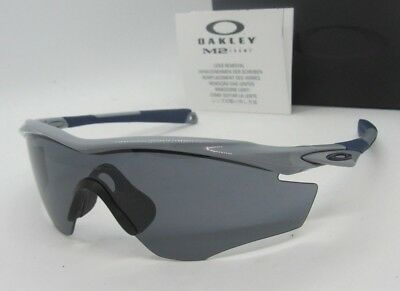 1ceb85c1e74 OAKLEY polished fog grey M2 FRAME OO9121-03 sunglasses NEW IN BOX! AUTHENTIC