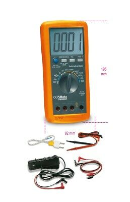 Beta Tools 1760DGT Digital Automotive Multimeter | 017600005