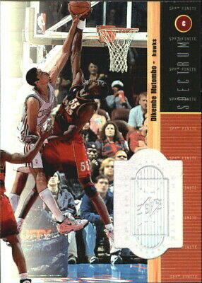 1998-99 SPx Finite Spectrum Atlanta Hawks Basketball Card #59 Dikembe Mutombo