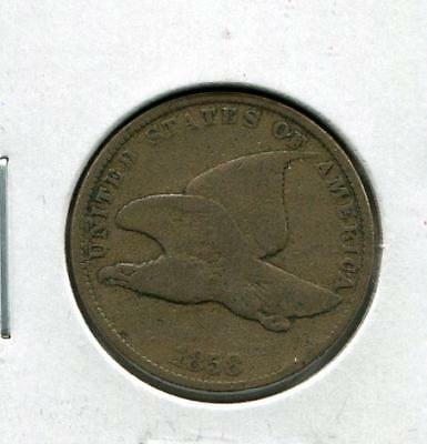 1858 Flying Eagle Cents   1 cent   Early Cent (RC10909)