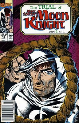 Marc Spector Moon Knight #18 1990 FN Stock Image