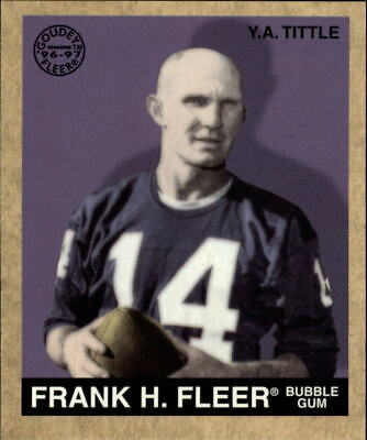 1997 Fleer Goudey #147 Y.A. Tittle