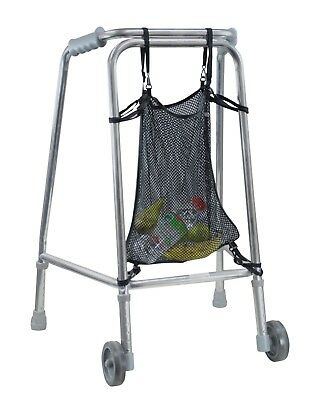 Aidapt Lightweight Sturdy Net Storage Shopping Bag for Walking Zimmer Frames