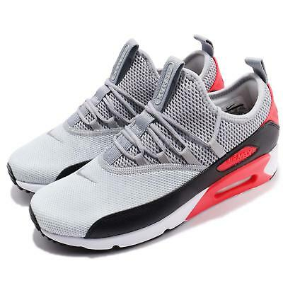 reputable site f3686 fbc62 Nike Air Max 90 EZ Grey Black Infrared Red Men Running Shoes Sneakers  AO1745-002