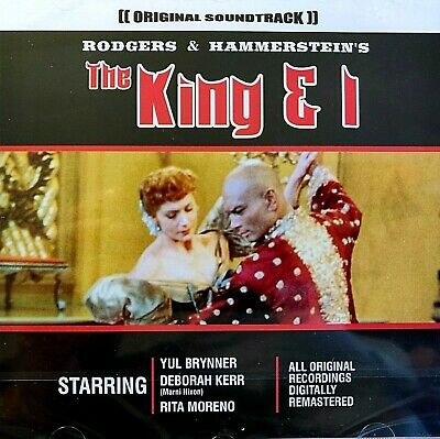NEW & SEALED - THE KING AND I  Original Film Musical Soundtrack - Music CD Album