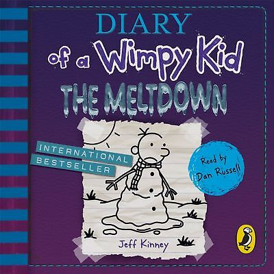 Audio CD - Diary of a Wimpy Kid: The Meltdown (book 13) by Dan Russell
