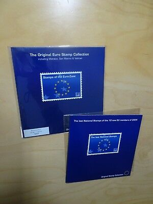 The original Euro stamp Collection + 10 new EU members (9172)