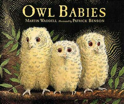 Owl Babies by Martin Waddell (English) Hardcover Book Free Shipping!