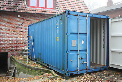 Seecontainer Schiffscontainer Lagercontainer Container Baucontainer 20 Fuß