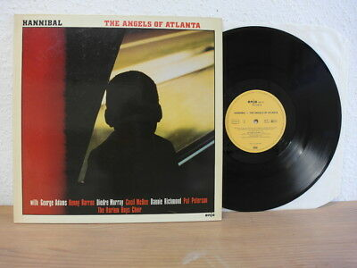 Hannibal The Angels Of Atlanta Lp 1981 In Mint