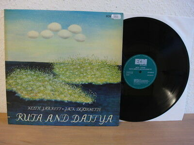Keith Jarrett / Jack De Johnette Ruta + Daitya Lp Rare Ecm In Mint