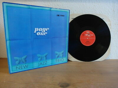 Manfred Schoof New Jazz Trio Page 1 Lp In Mint