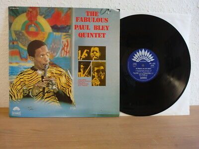 Paul Bley The Fabulous Paul Bley Quintet Lp In Mint