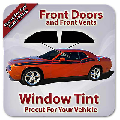 Front Doors Any Shade Precut Window Tint for Ram 3500 Crew Cab 09-18