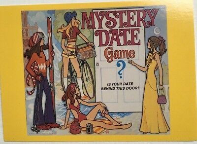 Postcard - Mystery Date Game