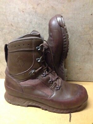 Size 11 genuine brown combat high liability haix boots!Very Good-grade 1!