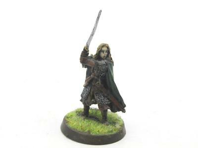Lord Of The Rings Hobbit Middle-Earth Rohan Shieldmaiden Eowyn Metal (w1733)