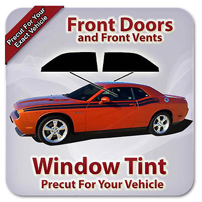 Precut Window Tint for Toyota Tacoma Extended Cab 16-18 Front Doors Any Shade