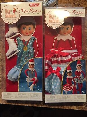 Elf On The Shelf ARCTIC ICE SKATE GOWN & Twirling Skirts NIB Clothes