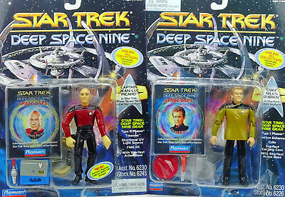 Captain Picard & O`brien (Für Auspacker) Star Trek Deep Space Nine Von Playmates