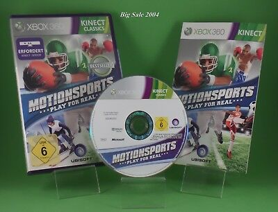 MotionSports: Play for Real Bestseller XBOX360 Sehr gut